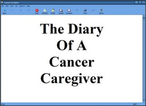 Diary of a Cancer Caregiver eBook